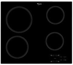 WHIRLPOOL AKT 809/NE Electric Ceramic Hob - Black