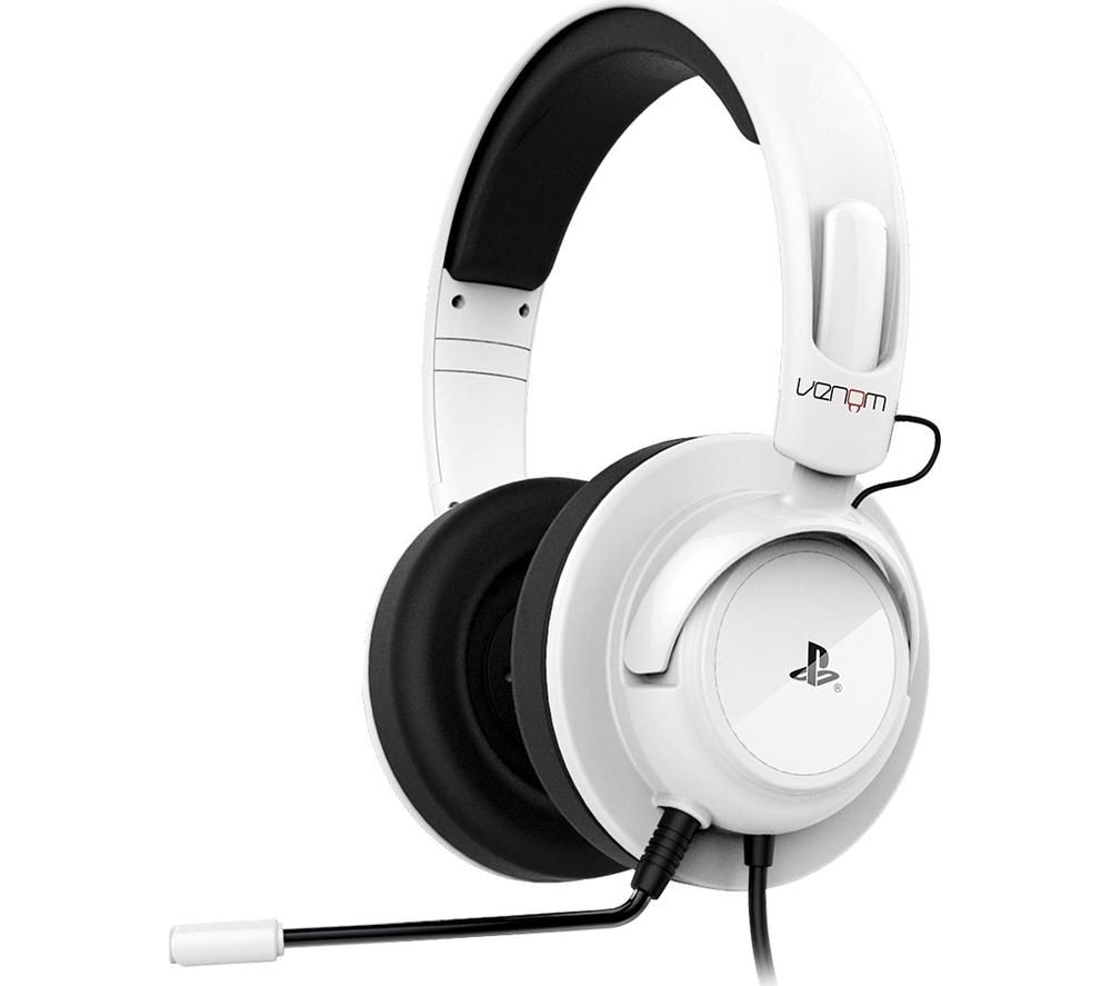 VENOM  VS2731 Vibration Stereo Gaming Headset  White White