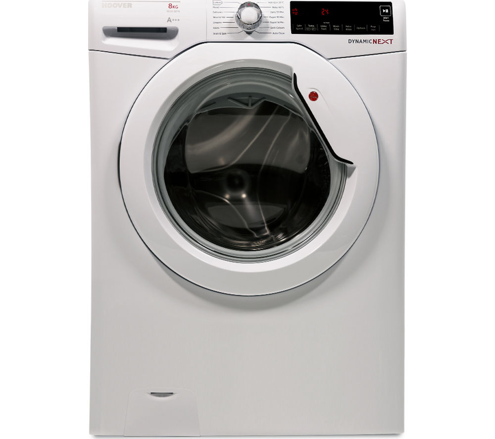 HOOVER  DXA68W3 Washing Machine - White +  VTV581NC Vented Tumble Dryer - White