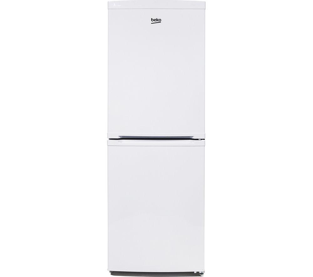 Image of Beko CXF525W Fridge Freezer - White, White