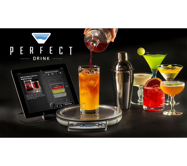 Buy perfect drink smart digital kitchen scales free for Perfect drink smart scale and app