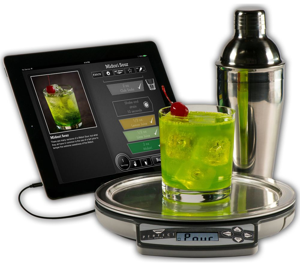 Perfect drink smart digital kitchen scales review for Perfect drink bluetooth scale