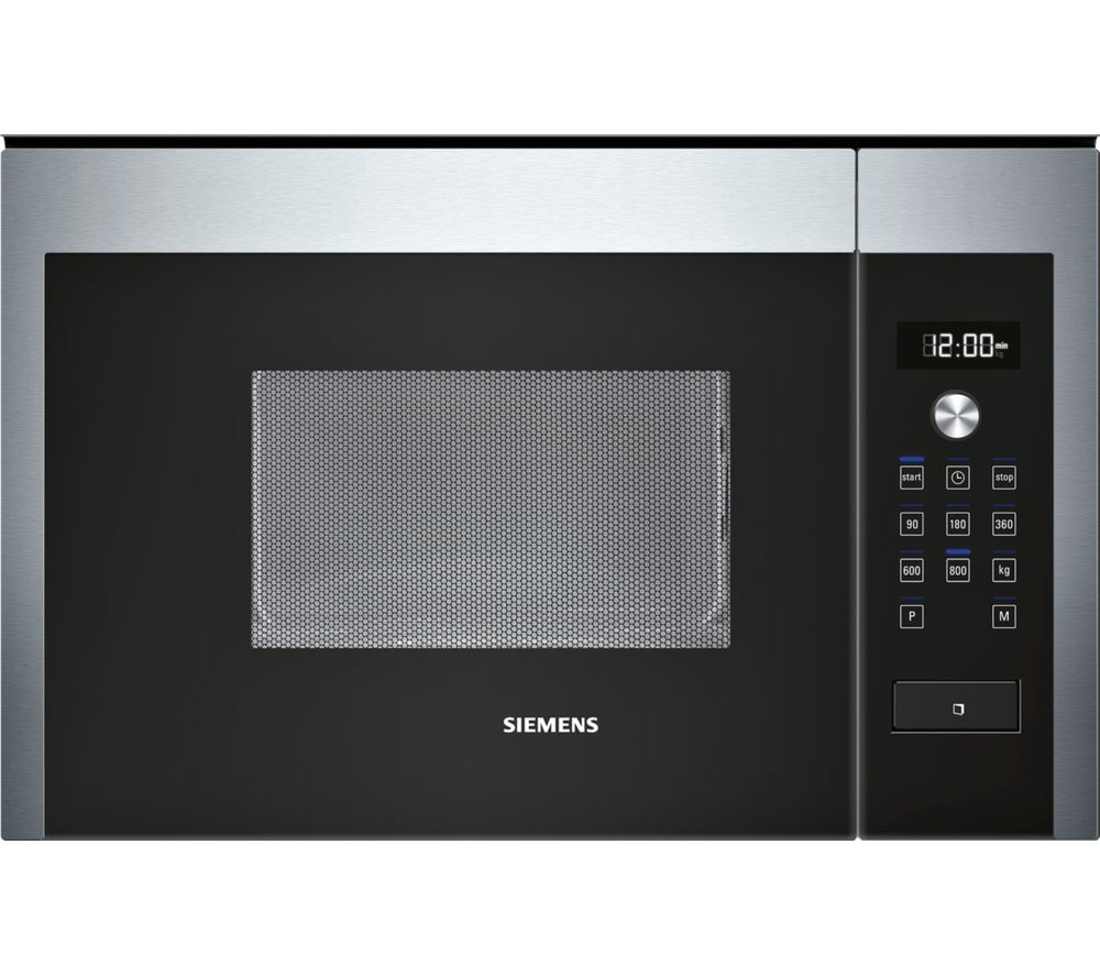 Image of Siemens HF15M564B Built-in Combination Microwave - Stainless Steel, Stainless Steel