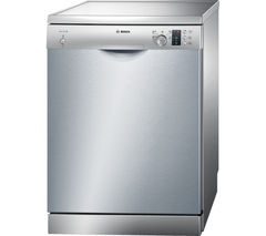 BOSCH Serie 4 SMS50C28GB Full-size Dishwasher - Silver
