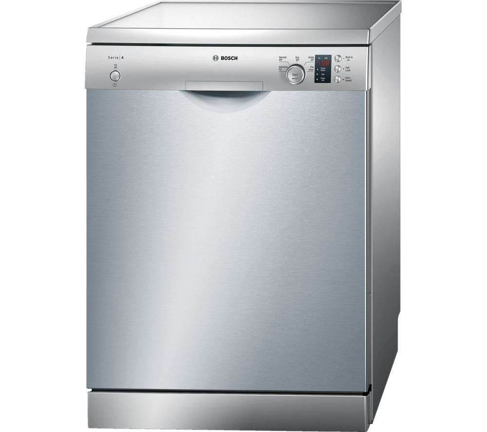 buy bosch serie 4 sms50c28gb full size dishwasher silver. Black Bedroom Furniture Sets. Home Design Ideas