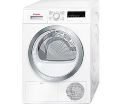 BOSCH Serie 4 WTN85280GB Condenser Tumble Dryer - White