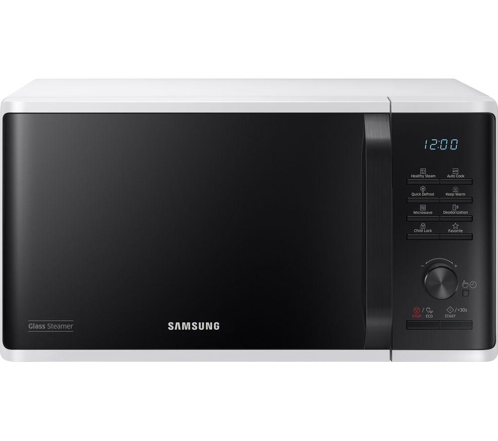 SAMSUNG  MW3500K Solo Microwave  White & Black White