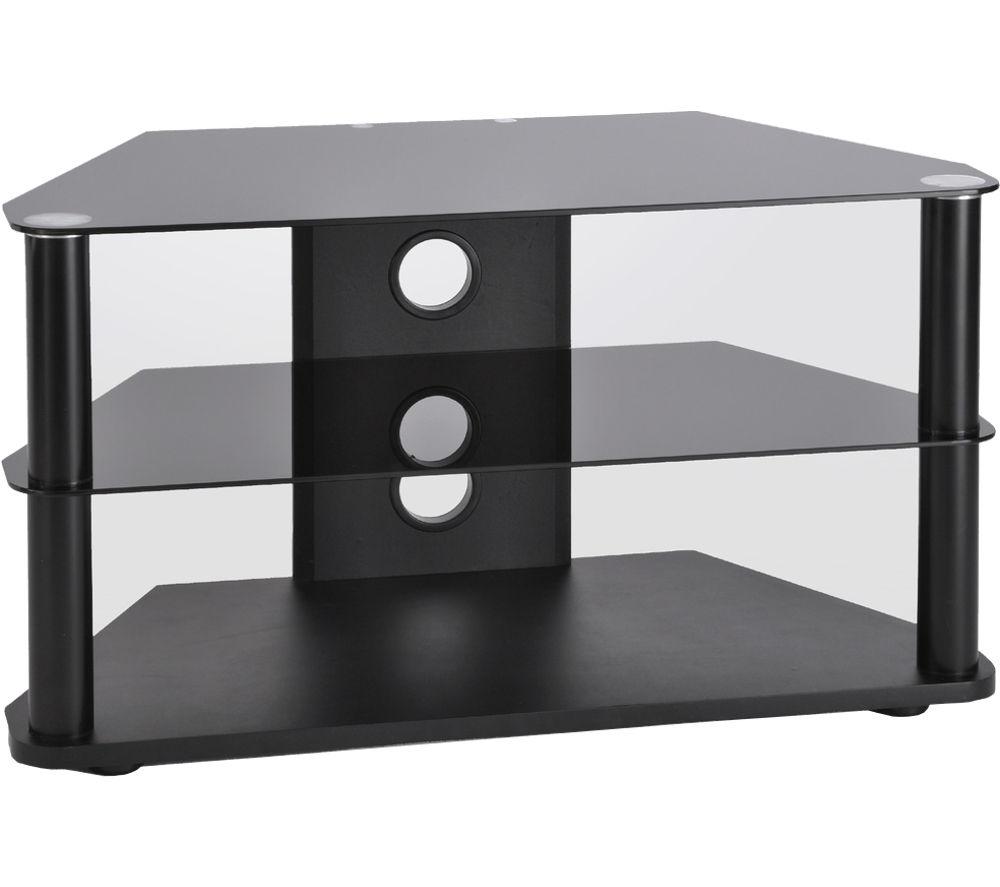 TTAP  Classik Corner 800 TV Stand  Black Black