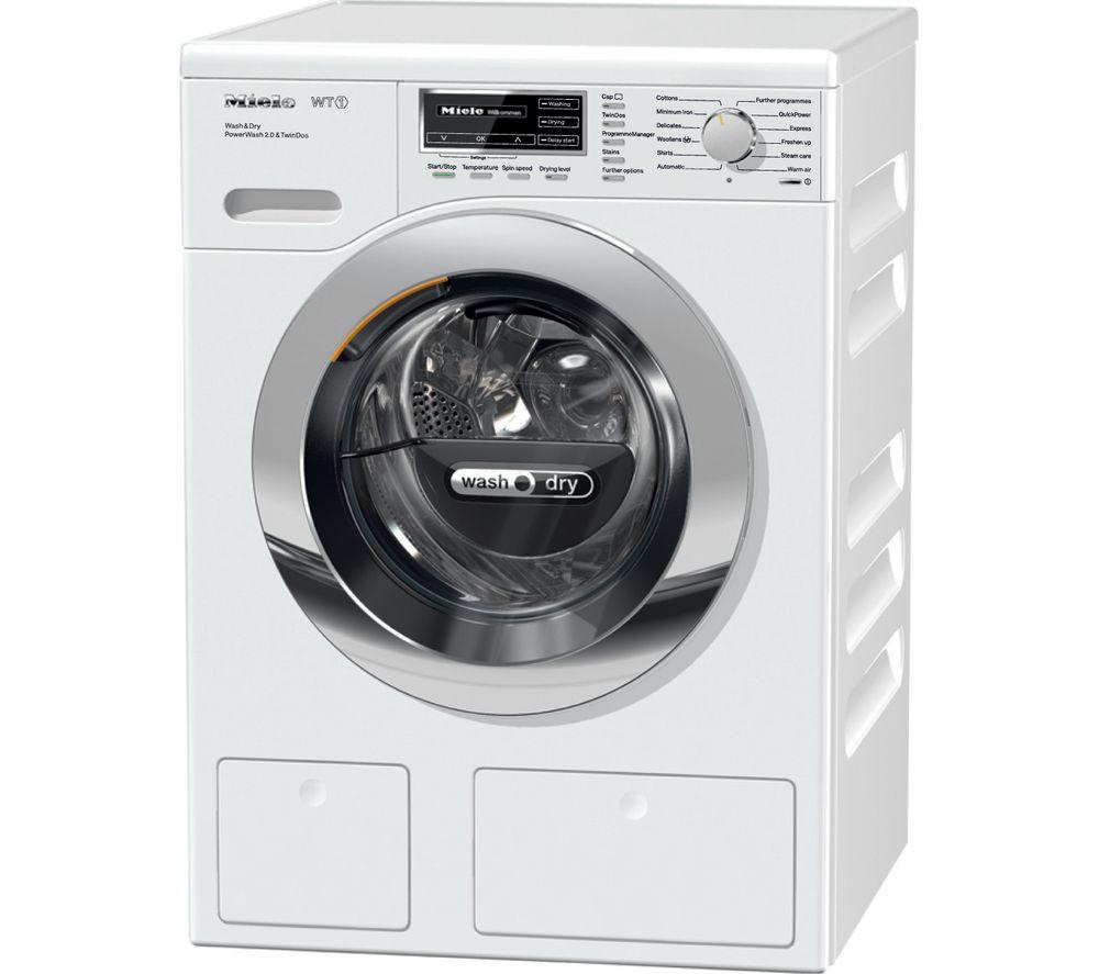 MIELE  WTH120 Washer Dryer  White White