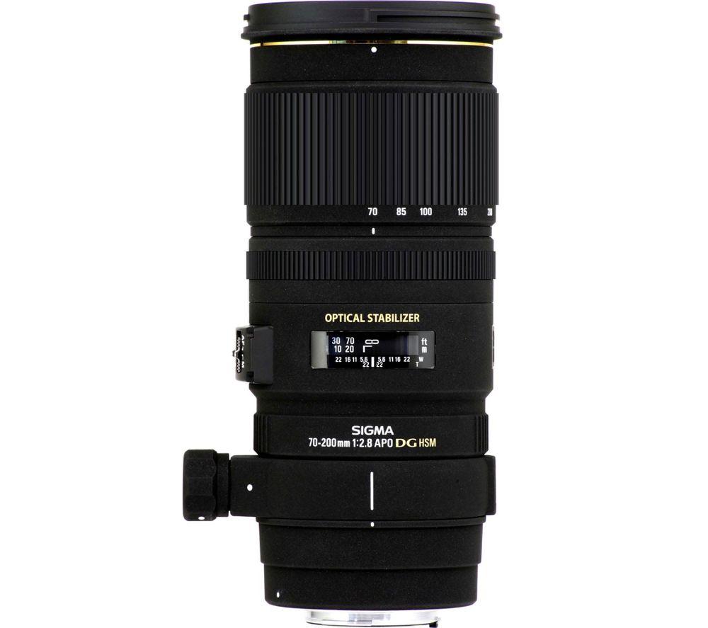 SIGMA 70-200mm f/2.8 APO EX DG HSM Telephoto Zoom Lens