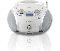 ROBERTS ZoomBox3 Boombox - White