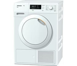MIELE TKB550 Heat Pump Tumble Dryer - White