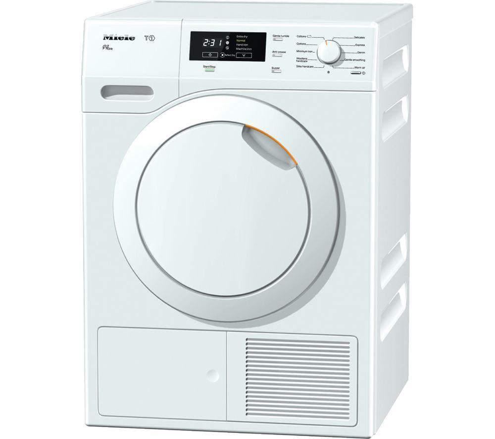 MIELE  TKB550 Heat Pump Tumble Dryer  White White