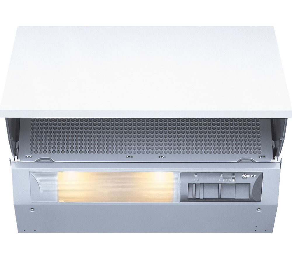 NEFF D2664X0GB Integrated Cooker Hood - Silver