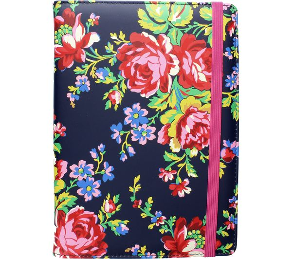 """Image of ACCESSORIZE Navy Rose 10"""" Tablet Case"""