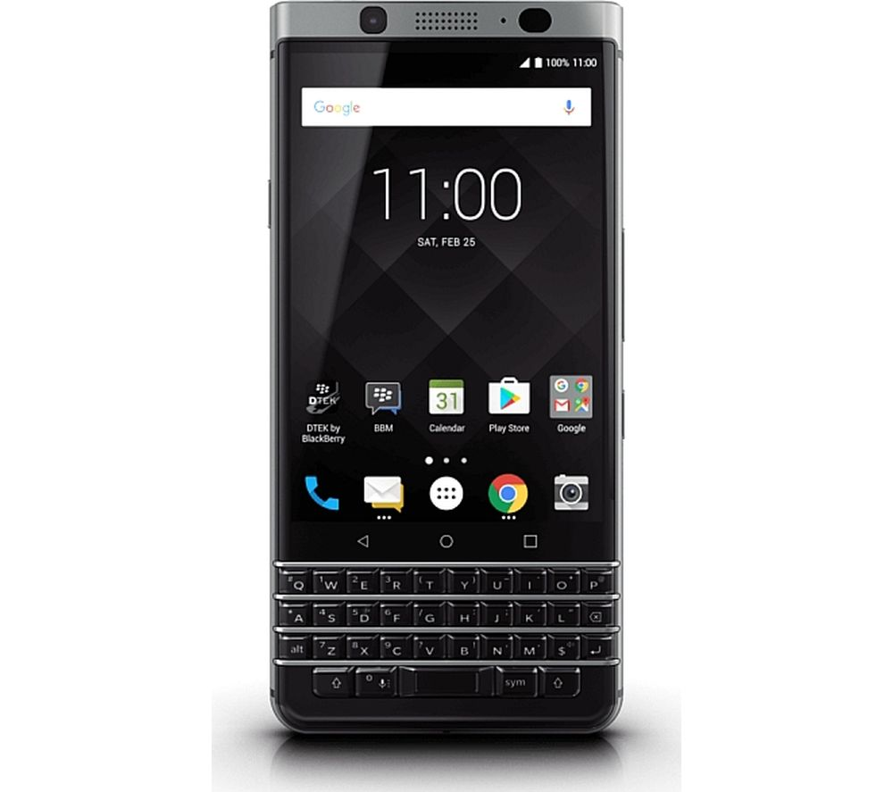 Image of BLACKBERRY KEYone - 32 GB, Black, Silver