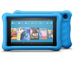 AMAZON Fire 7 Kids Edition Tablet (2017) - 16 GB, Blue