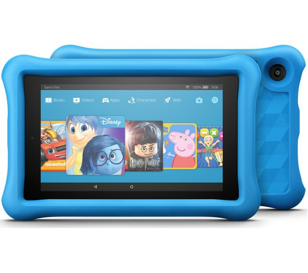 Image of AMAZON Fire 7 Kids Edition Tablet (2017) - 16 GB, Blue