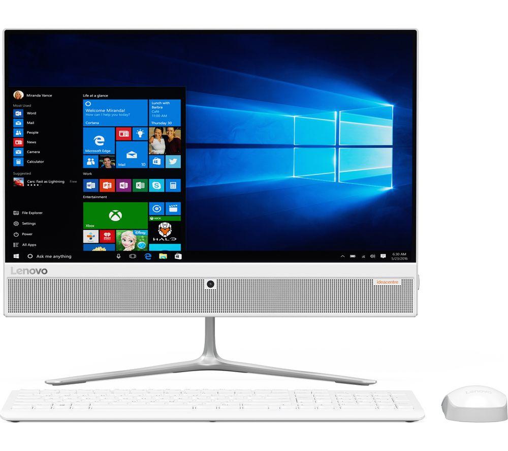 """LENOVO IdeaCentre 510 21.5"""" All-in-One PC - White"""