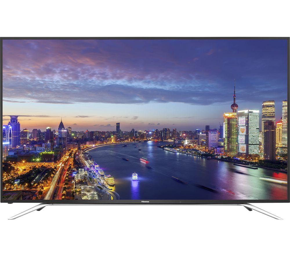 buy hisense he65k5510uwts 65 4k ultra hd hdr led tv free delivery currys. Black Bedroom Furniture Sets. Home Design Ideas