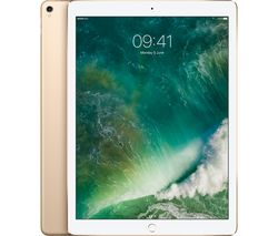 "APPLE 12.9"" iPad Pro Cellular - 256 GB, Gold (2017)"