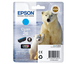 EPSON Polar Bear T2612 Cyan Ink Cartridge