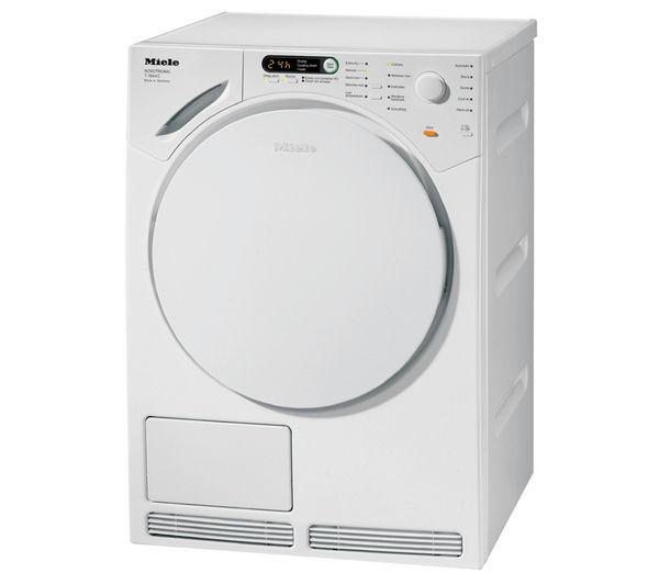 Miele T7944 Condenser Tumble Dryer - White, White