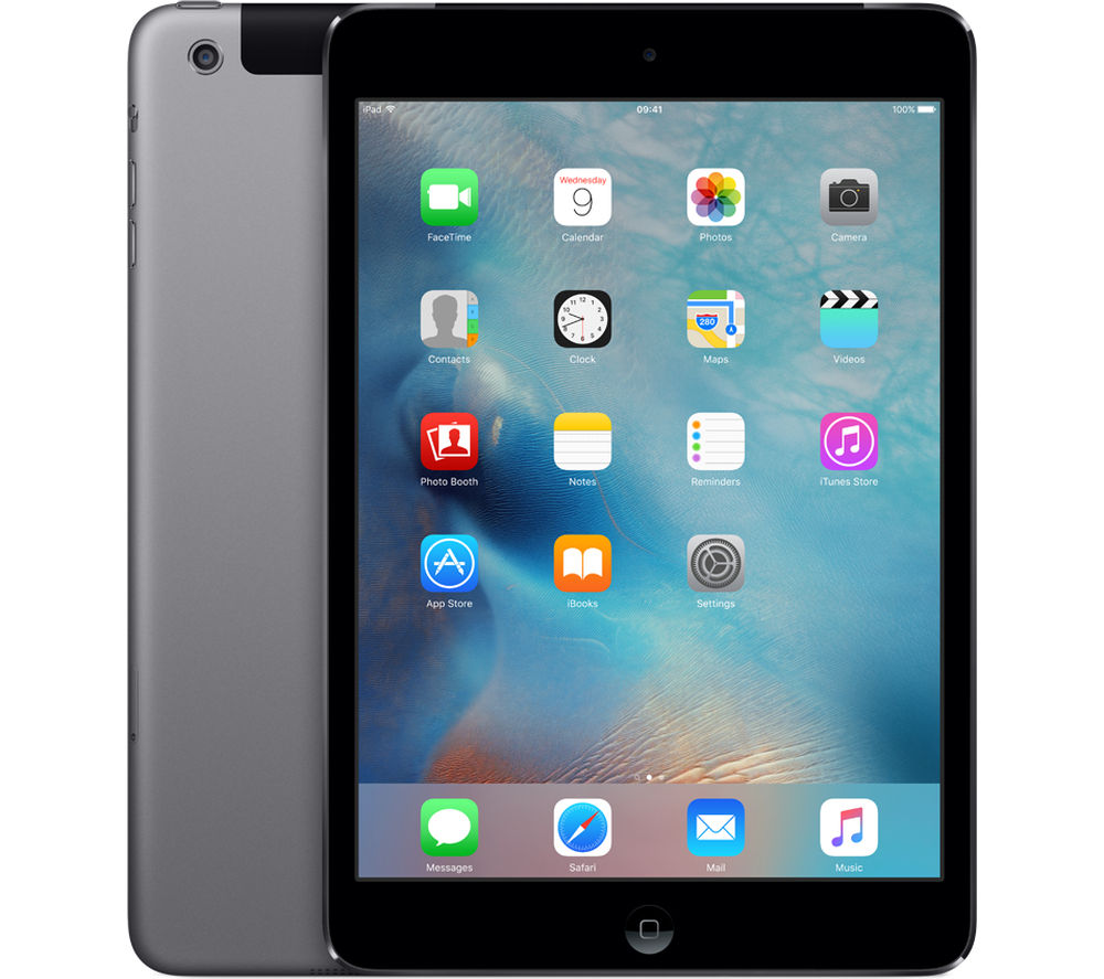 APPLE iPad mini 2 Cellular - 16 GB, Space Grey