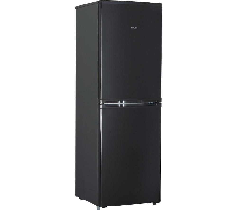 LOGIK LFC50B14 50/50 Fridge Freezer - Black