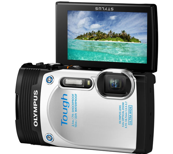 buy olympus tough tg 850 waterproof compact digital camera. Black Bedroom Furniture Sets. Home Design Ideas