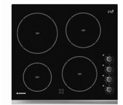 HOOVER HVK64X Electric Ceramic Hob - Black