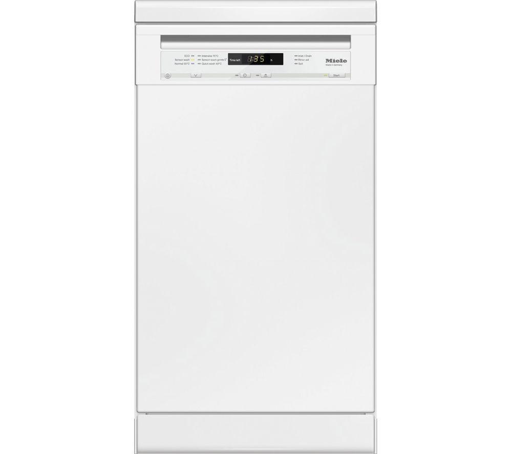 Miele G4700 SC Slimline Dishwasher  White White