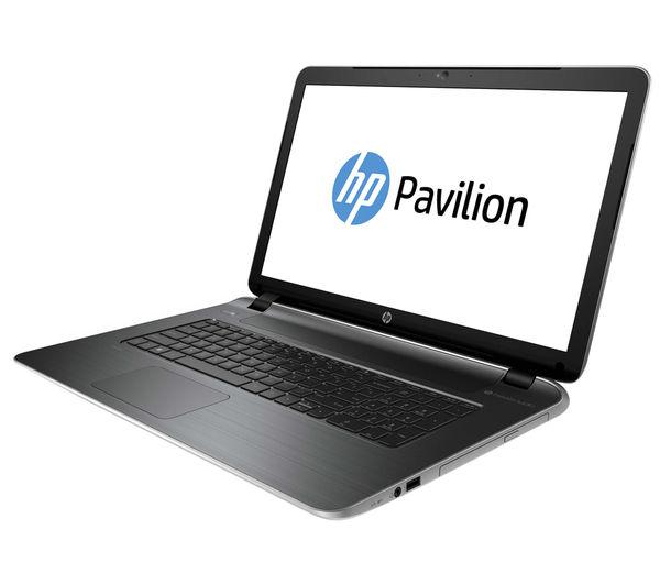 HP Pavilion 17f250na 17.3quot; Laptop  Silver + MCAFEE LiveSafe 2015