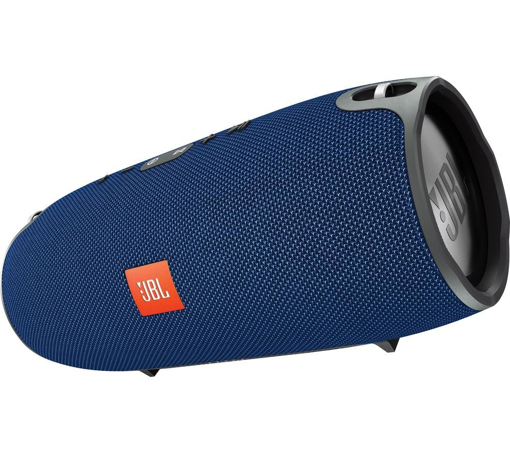 Click to view more of JBL  XTREME Portable Wireless Speaker - Blue, Blue