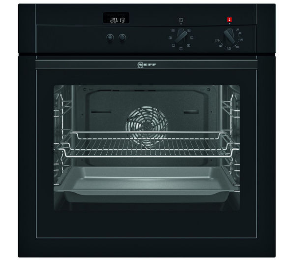 Neff b14m42s3gb electric oven black - Neff electric ...