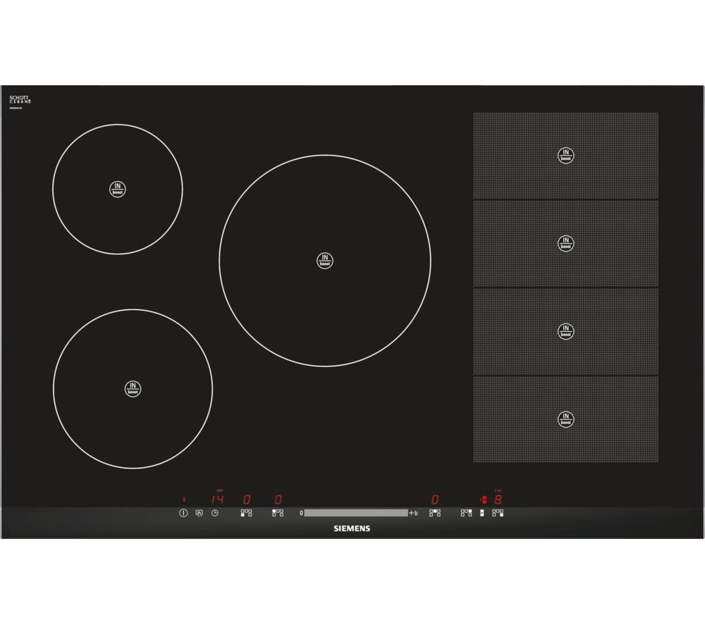 SIEMENS  EH875MP17E Electric Induction Hob  Black Black