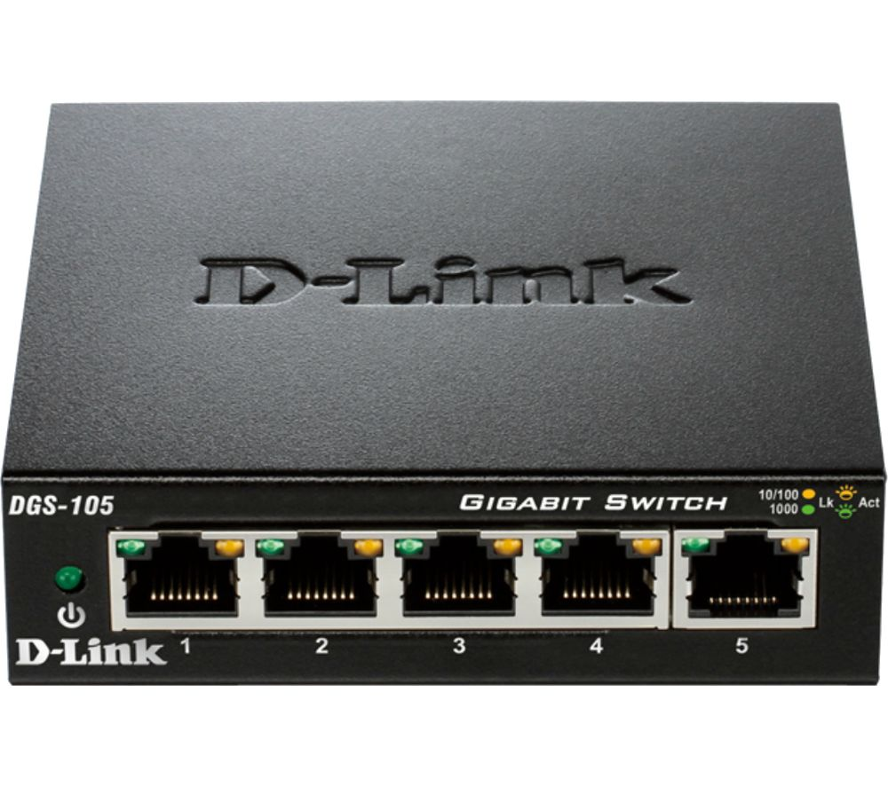 D-LINK DGS-105/B 5-port Ethernet Switch