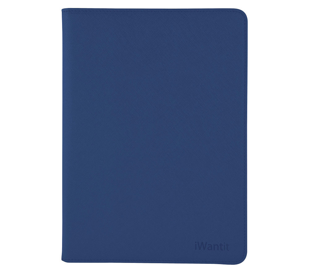 IWANTIT Folio iPad Mini 4 Case - Blue