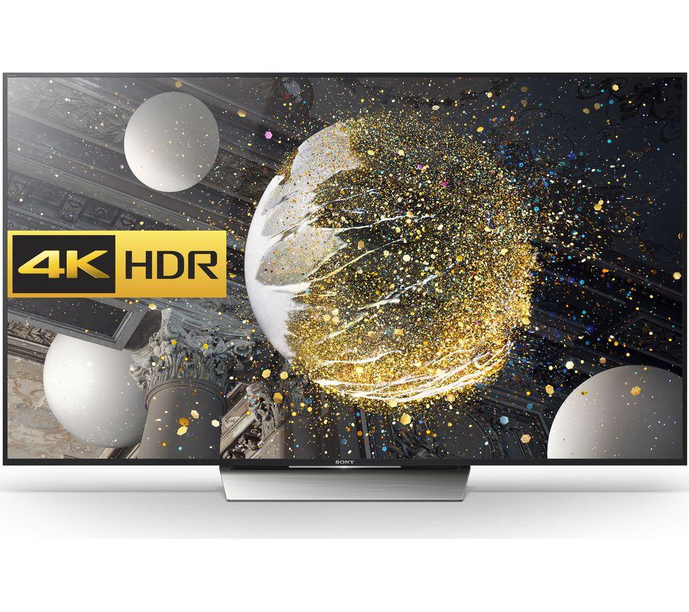 "SONY BRAVIA KD65XD8599BU Smart 4k Ultra HD HDR 65"" LED TV"