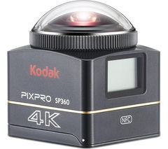 KODAK PIXPRO Aqua 4k SP360 Action Camcorder - Black
