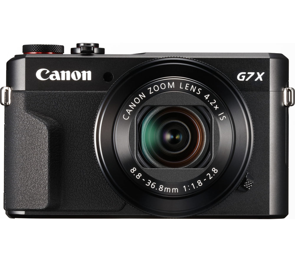 CANON  PowerShot G7 X Mark II High Performance Compact Camera - Black, Black