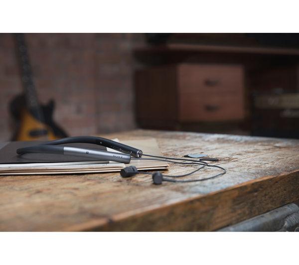 Image of SONY h.ear in MDR-EX750BTB Wireless Bluetooth Headphones - Black