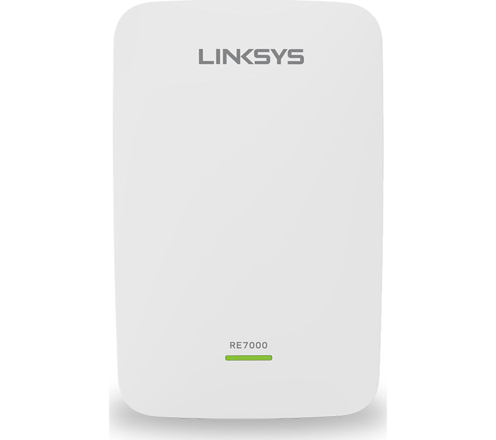 LINKSYS RE7000 WiFi Range Extender - AC 1900, Dual-band