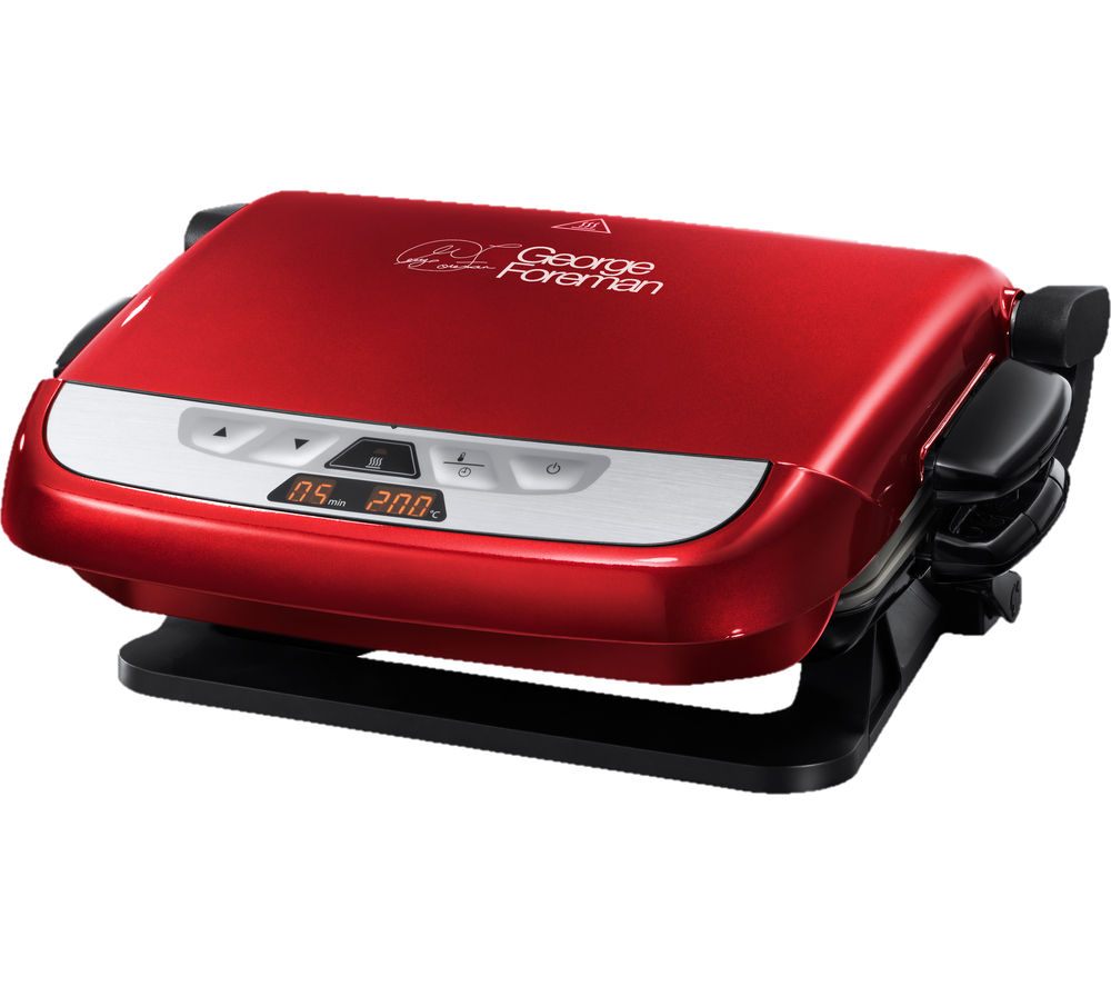 GEORGE FOREMAN  Evolve Health Grill  Red Red