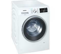 SIEMENS WD15G421GB Washer Dryer - White