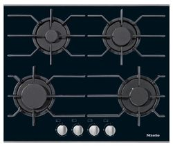 MIELE KM3010 Gas Hob - Black