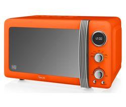 SWAN Retro SM22030ON Solo Microwave - Orange