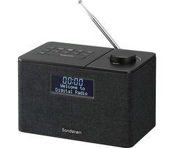 SANDSTROM SFSDAB17 Portable DAB+/FM Bluetooth Radio - Black