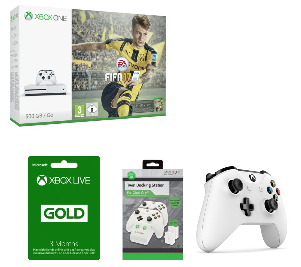 MICROSOFT  Xbox One S with Gaming Bundle
