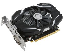 MSI GeForce GTX 1050 2G OC Graphics Card
